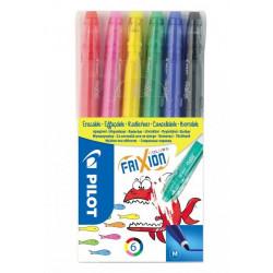 Pilot Frixion Colours gumovací fixy