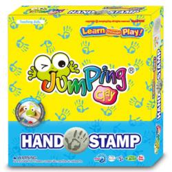Sada Jumping Clay na výrobu otisku ruky