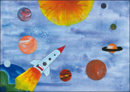 Předškolákovy týdeníčky: kosmická mapa (náhled)